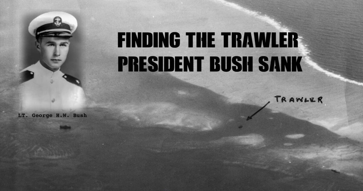 finding the trawler president bush sank