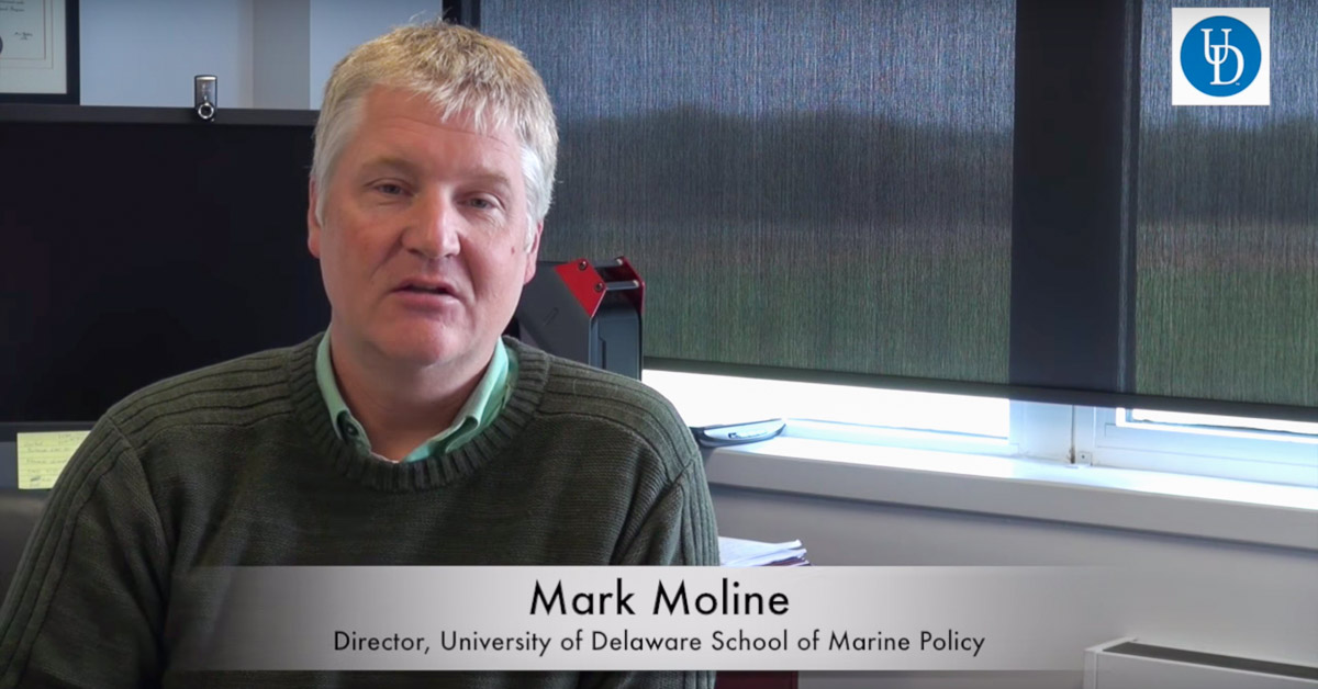 Dr. Mark Moline of the University of Delaware