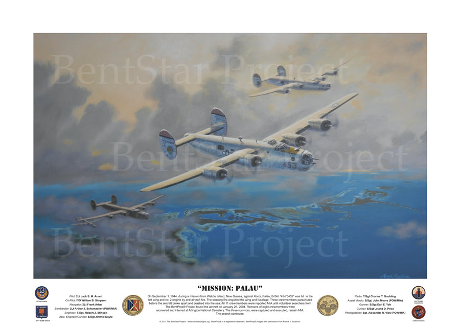 mission palau painting available by donation to project recover