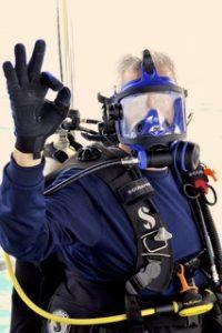 Diver OK signal