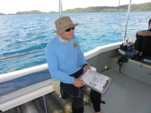 dive checklist officer