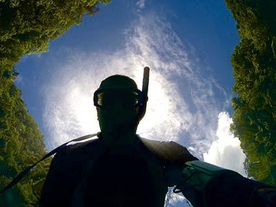 diver selfie palau bentprop