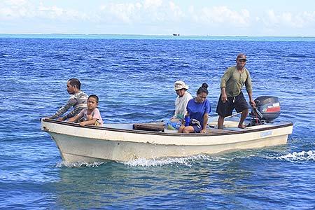 the diwi family fishing trip palau