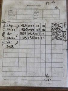 last dive log of mission 18, palau with bentprop