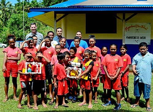 Palau student group shot