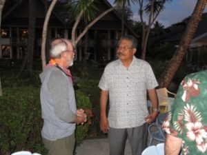 pat scannon and former president of palau