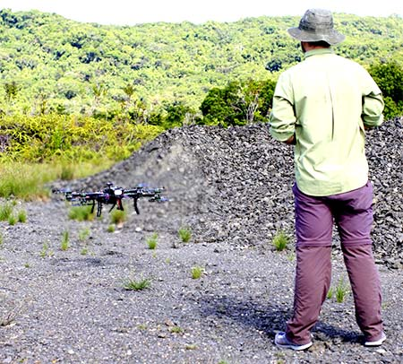 drones in palau for bentprop search