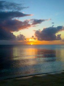 Sunset at Palau with Bentprop