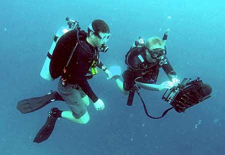 underwater scanner used by bentprop palau
