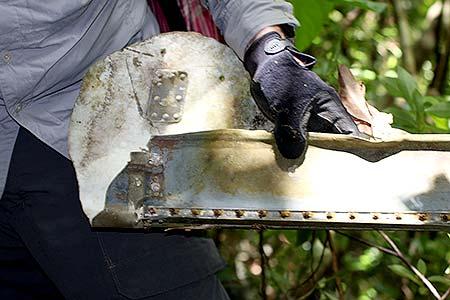 warbird crash piece palau