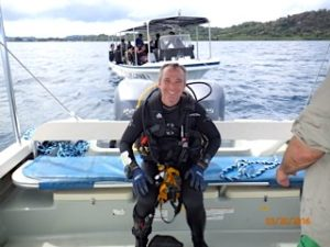 diving with bentprop in palau