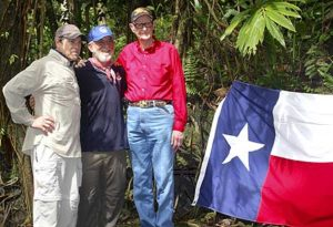 Governor Perry, Pat Scannon of bentprop.org and R.V. Burgin in palau