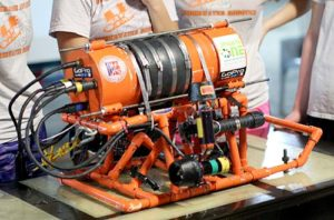 underwater ROV built by stockbridge students