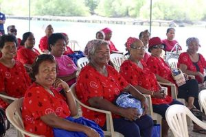 the red shirts of palau