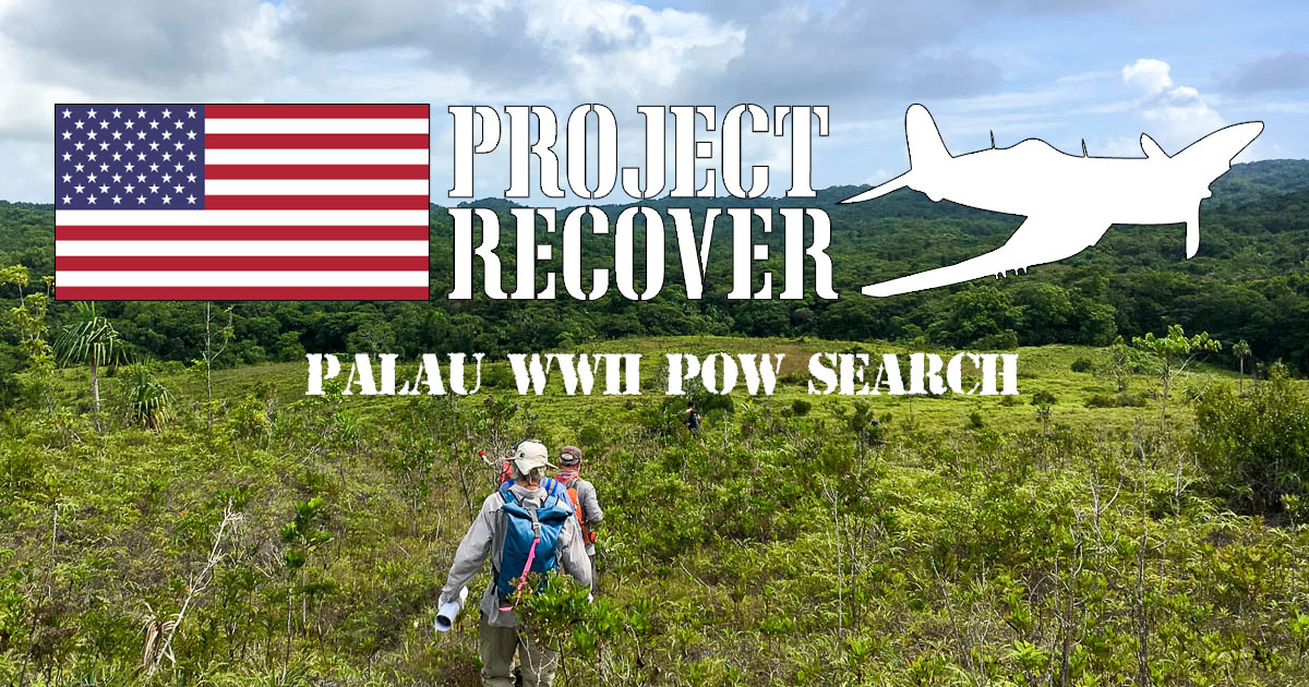 Project Recover Palau WWII POW search