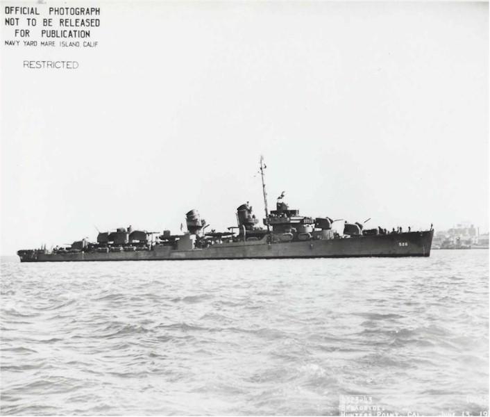 USS Abner Read 1943