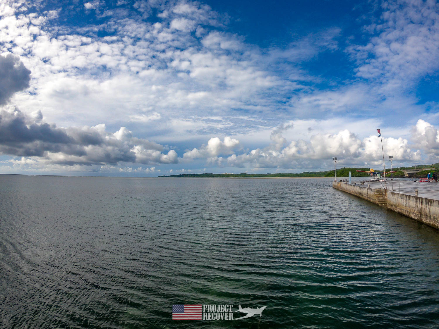 Palau water scene. Execution of WWII POWs and Innocents in Palau - Project Recover is committed to bringing the MIA home. Photos by Harry Parker Photography.com