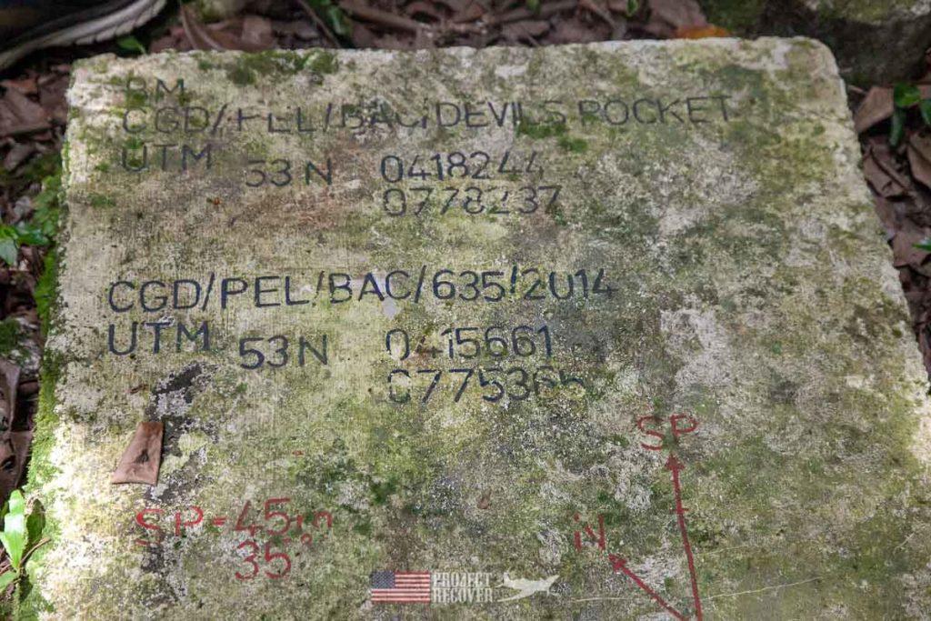 WWII artifact on Peleliu