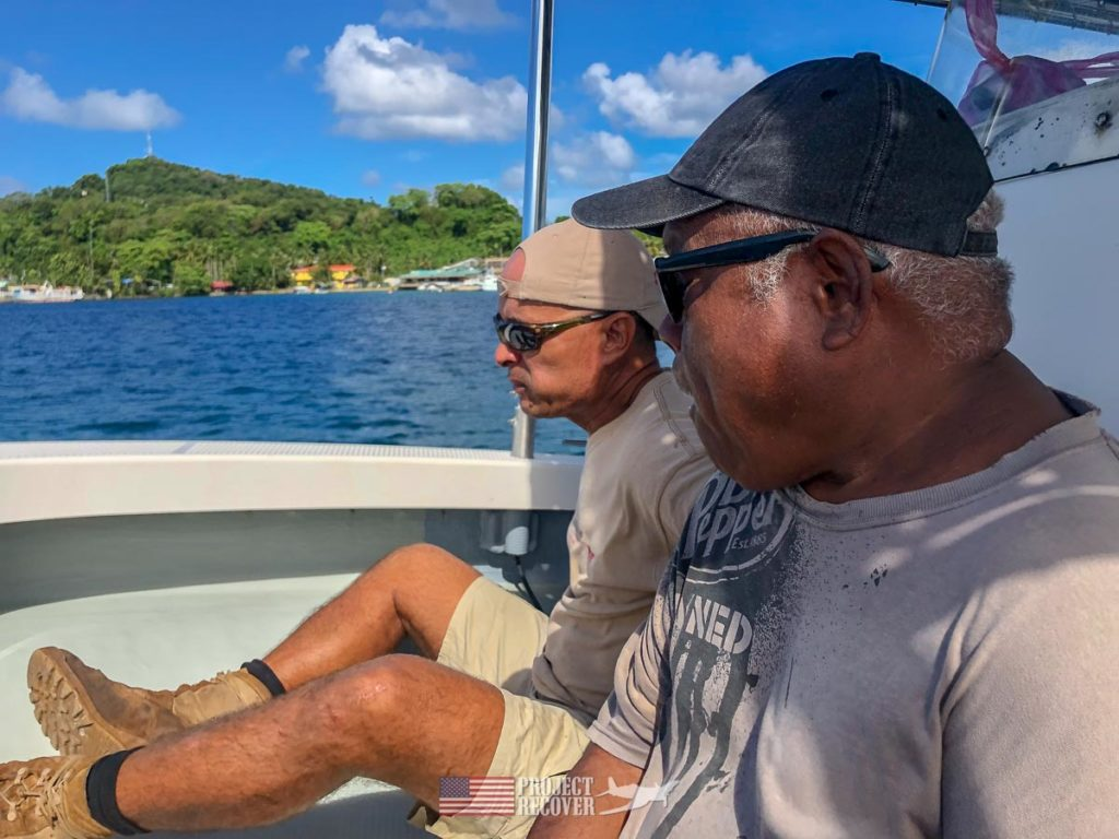 Boat ride to to Peleliu.