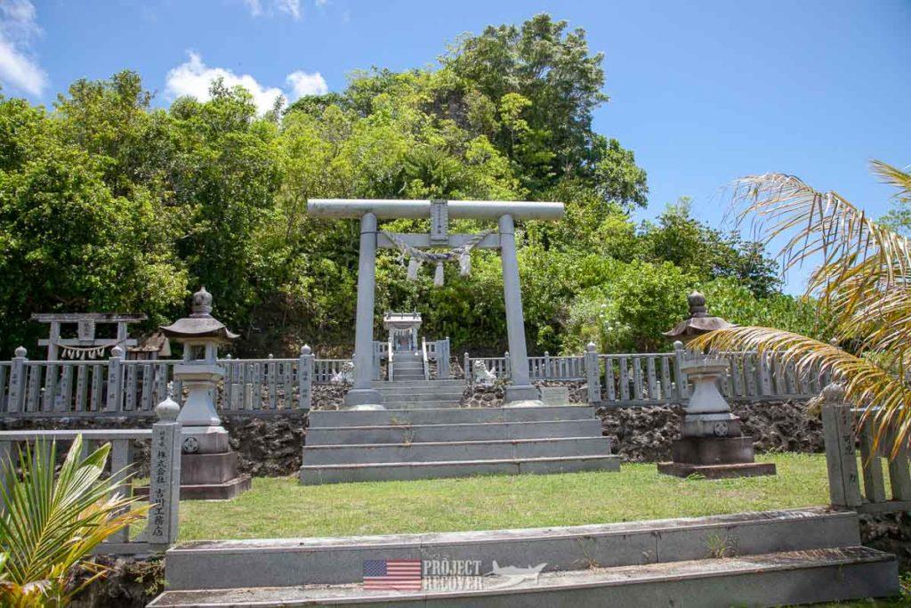 Japanese WWII Memorial on Peleliu