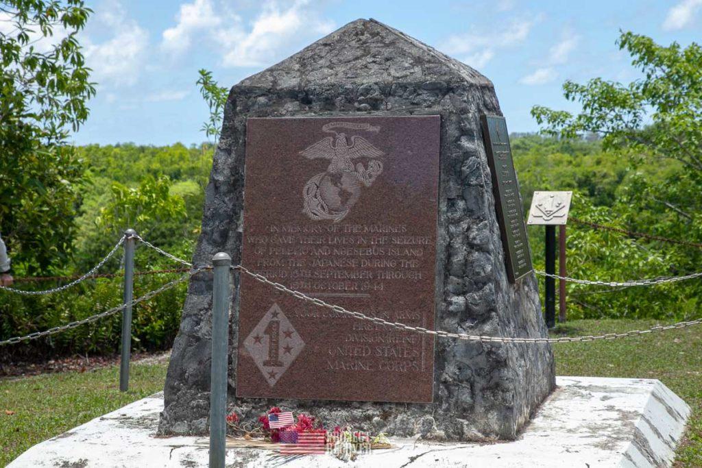 USMC Monument on Peleliu