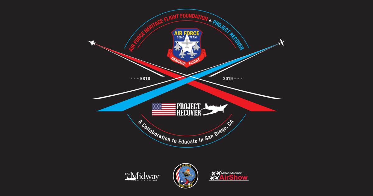 Project Recover is partnering with Air Force Heritage Flight Foundation to present an educational program to 120 students from High Tech High School aboard the USS Midway Museum in San Diego this Wednesday and Thursday, September 25th and 26th. A panel of instructors from a variety of career backgrounds, including aviation, oceanography, forensic anthropology, history, and engineering, will teach students how professionals use their expertise to have a positive impact on their community, county, and world. Project Recover is committed to Keeping Americas Promise to bring the MIAs home. - Project Recover is a collaborative effort to enlist 21st century science and technology in a quest to find and repatriate American missing in action since world war II, in order to provide recognition and closure for families and the nation. Photos by Harry Parker Photography