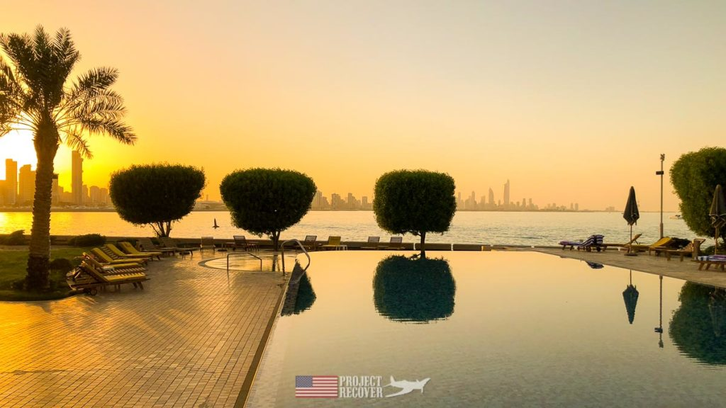 Golden sunset over Kuwait. Photo Credit: UDEL/Project Recover
