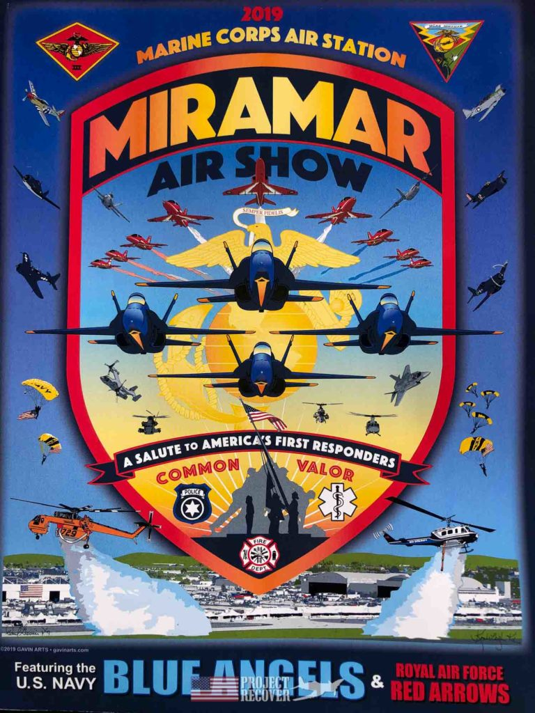 poster for miramar airshow 2019
