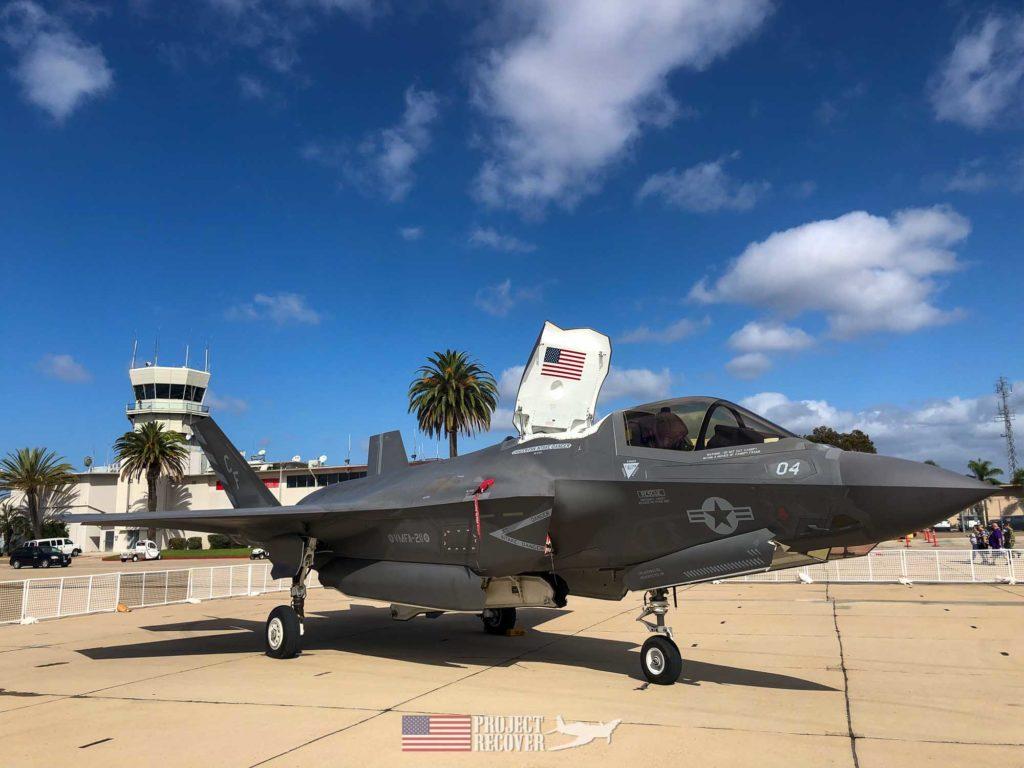 fighter jet static desplay