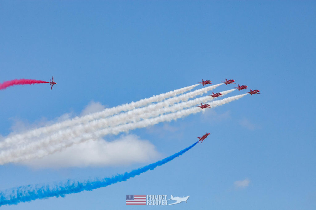 jets flying airshow