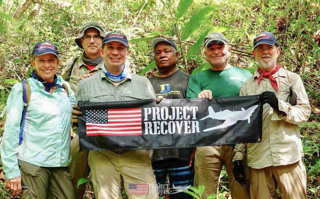 group photo palau jungle