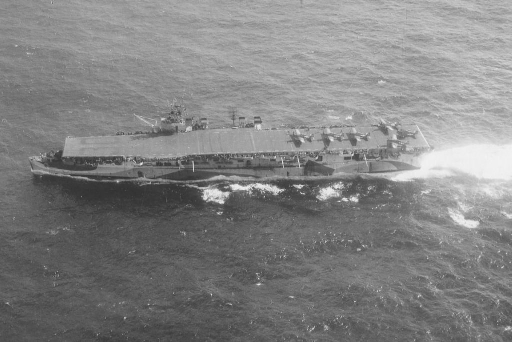 USS San Jacinto aircraft carrier