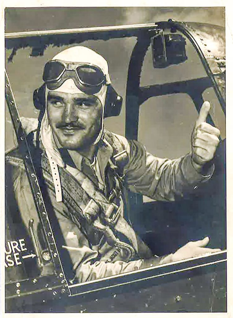 Francis Water WWII Pilot