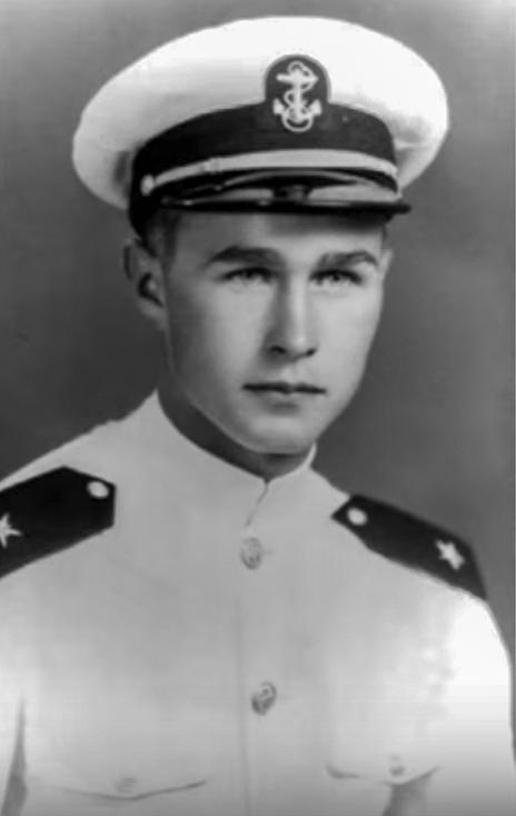 George H.W. Bush WWII Officer