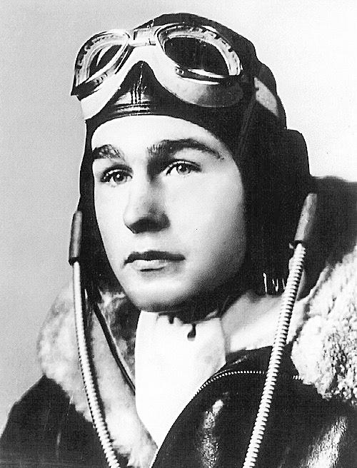 George H.W. Bush WWII Pilot