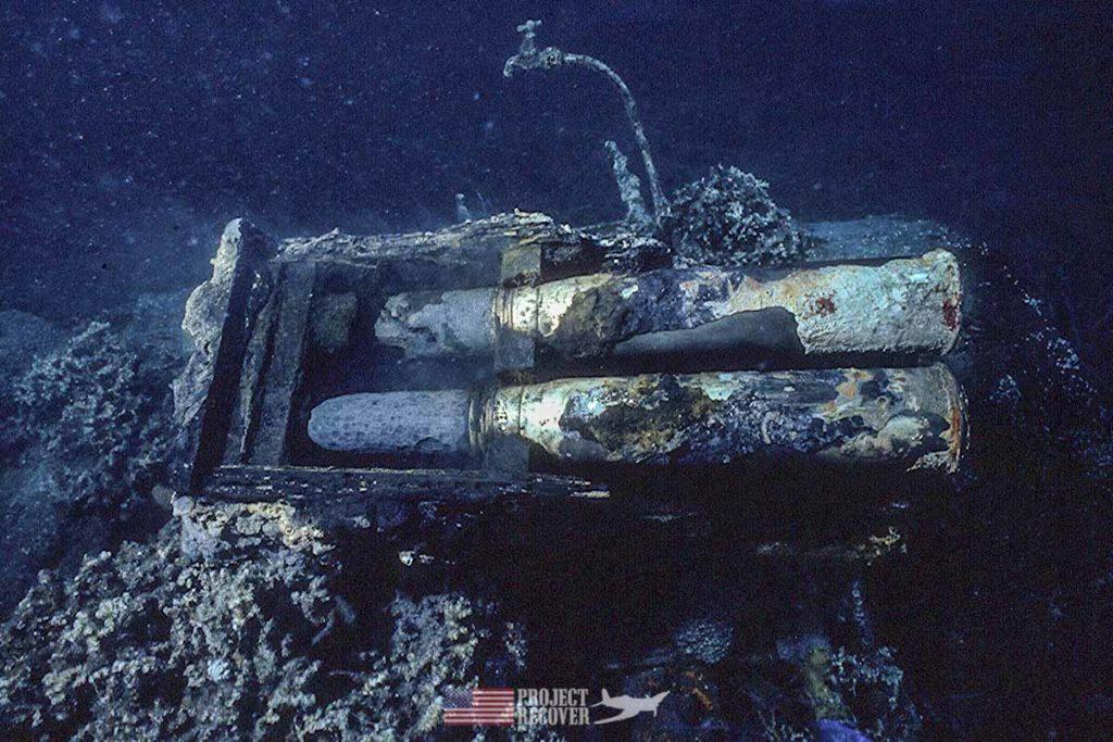 President George H. W. Bush trawler ammo box