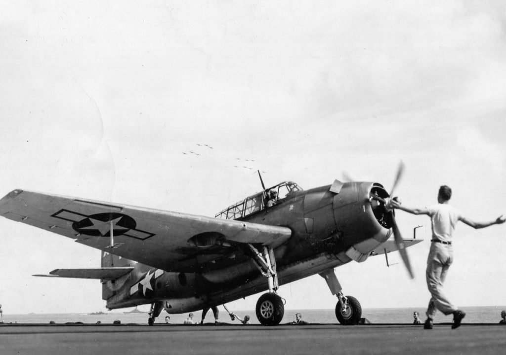 WWII TBM Avenger War Plane