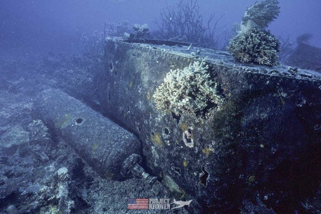 WWII Japanese Trawler sunk by President George H. W. Bush