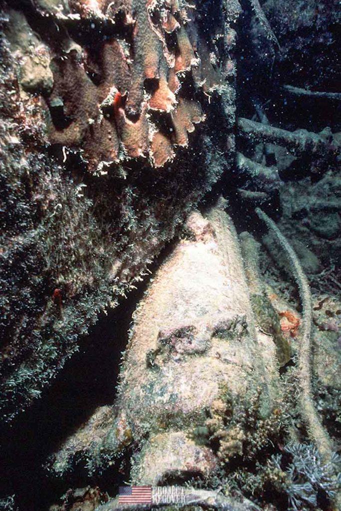 WWII trawler sunk by Pres. G. H. W. Bush