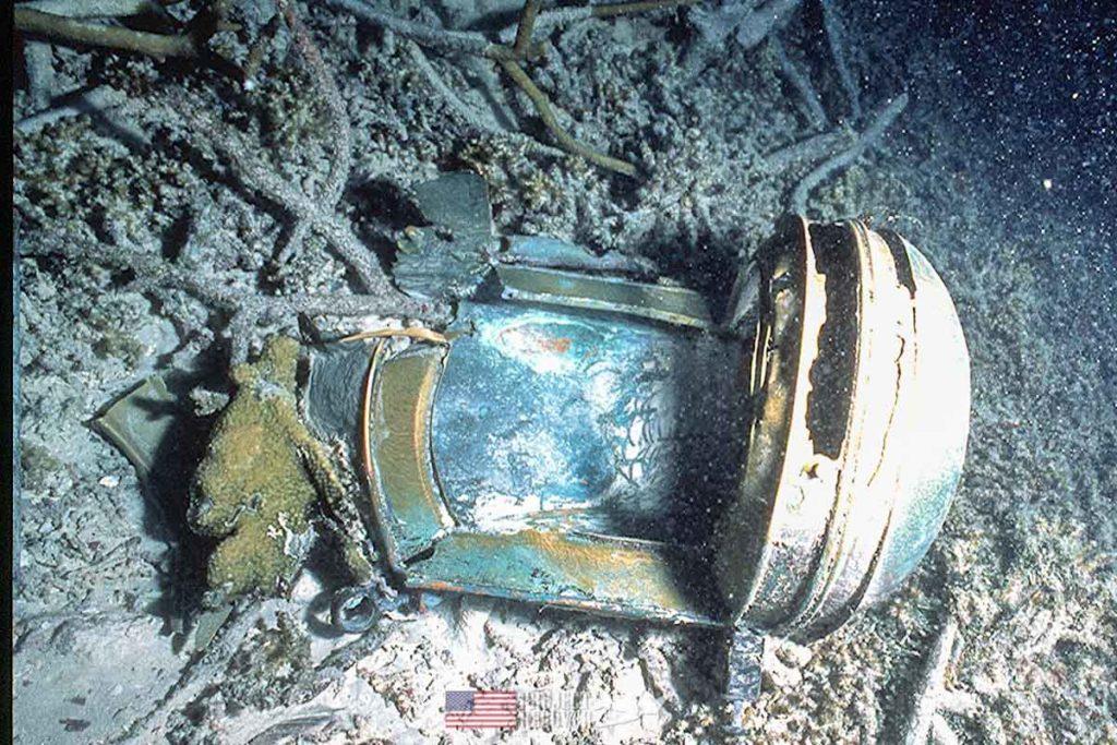 WWII Japanese Trawler Ship Lamp