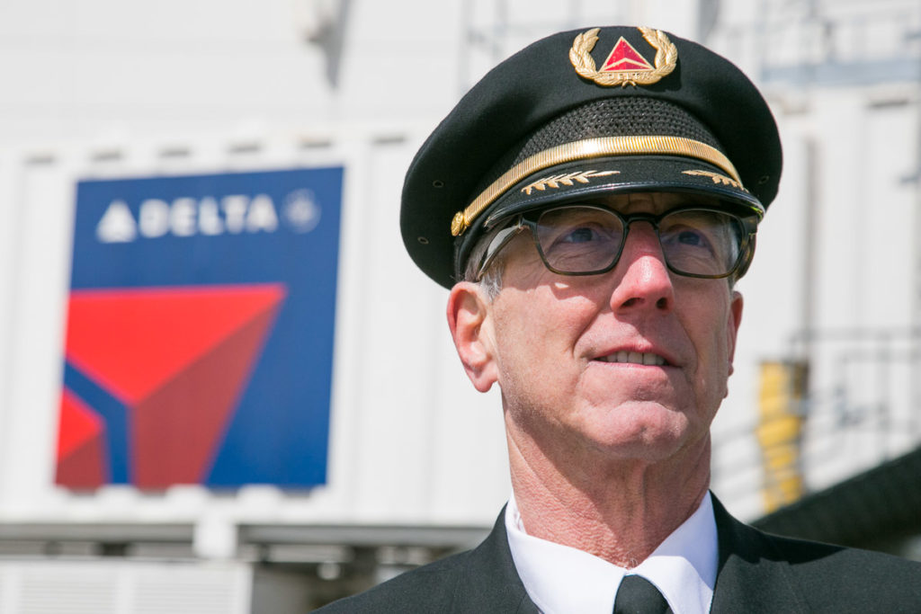 Flip Colmer Command Pilot for Delta Airlines