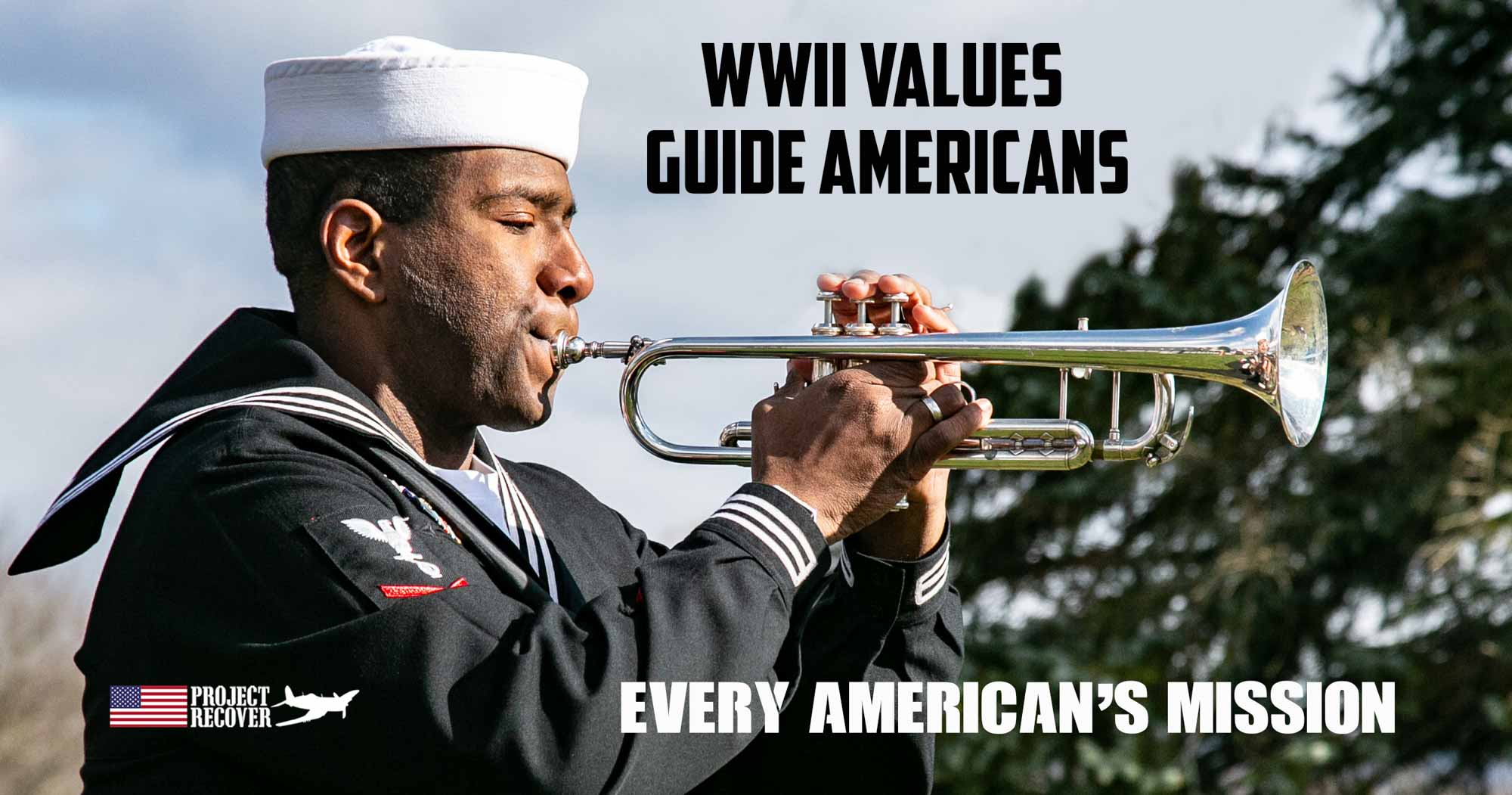 Navy Honor Guard Plays Taps the Greatest Generation
