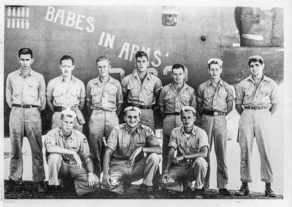 Crew of Arnett B-24
