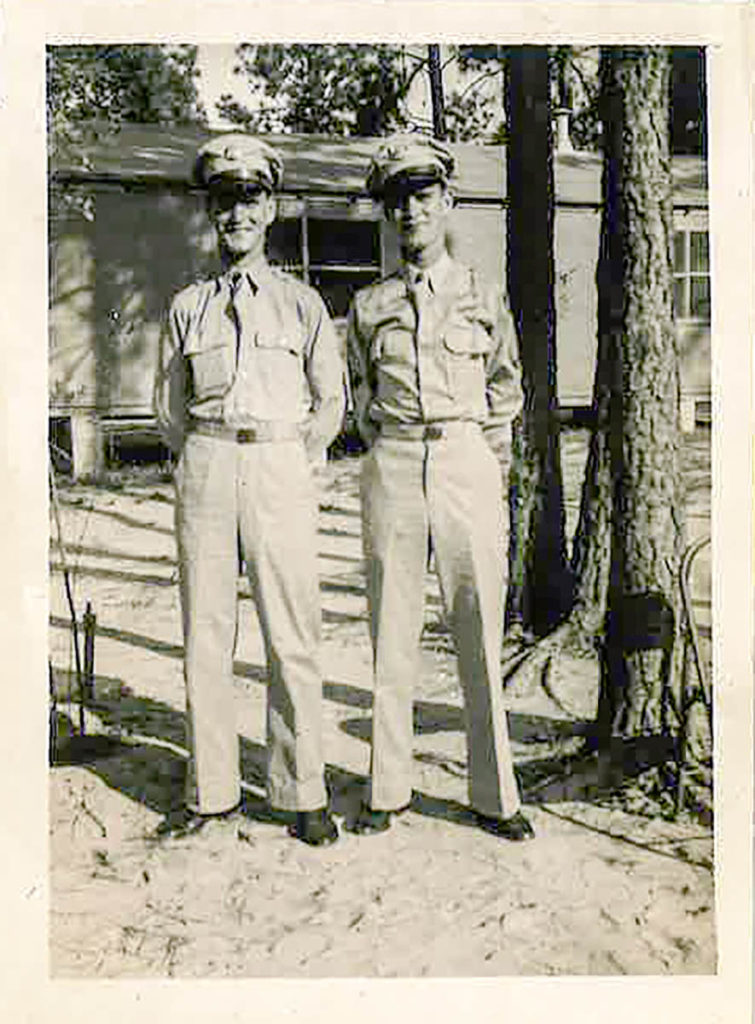 Frank and Francis Waters - Fort Jackson SC 1942