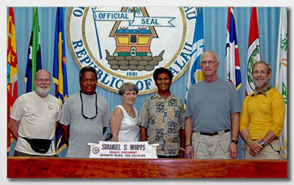 Nancy and Tommy Doyle - Palau Senate
