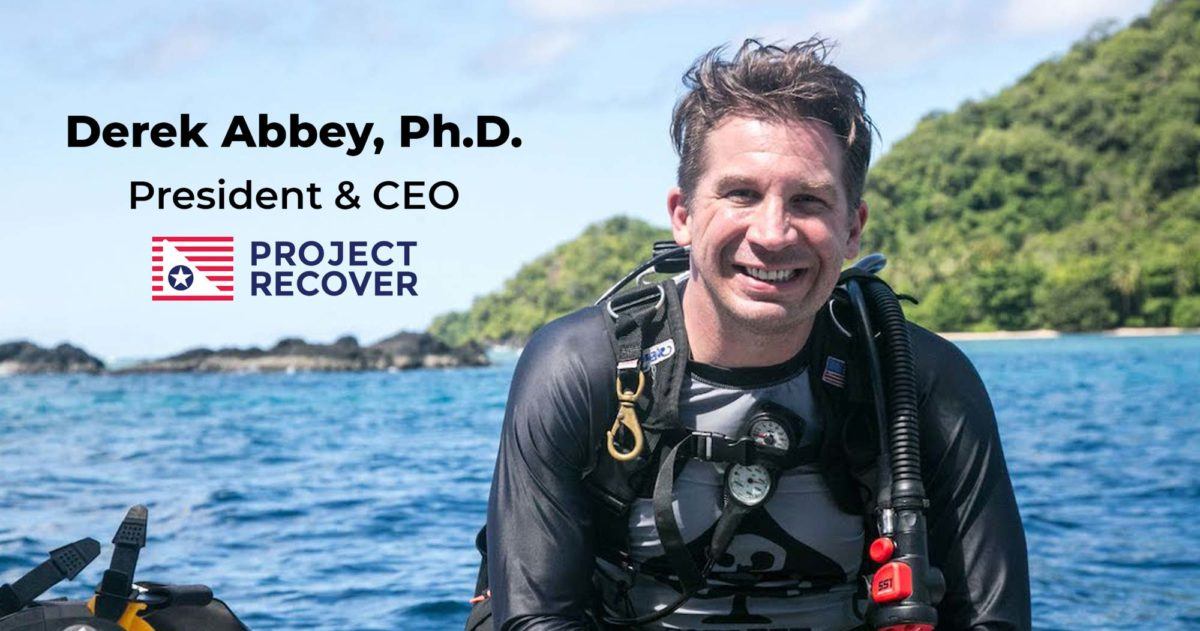 Derek Abbey CEO and President Project Recover
