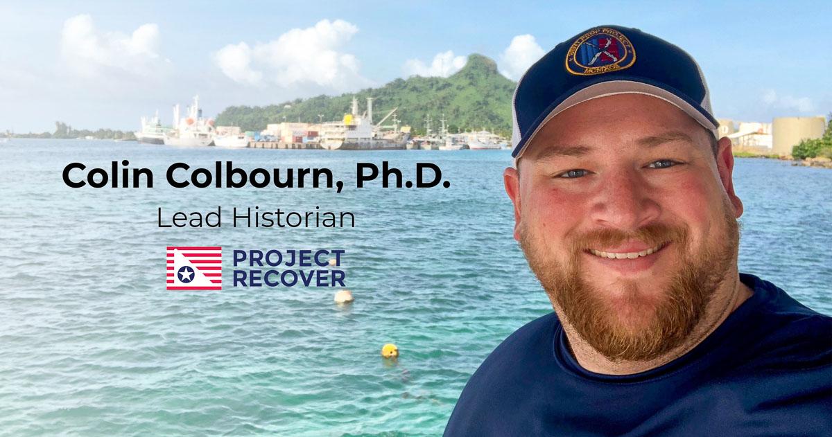 Colin Colbourn, Ph.D. Lead Historian