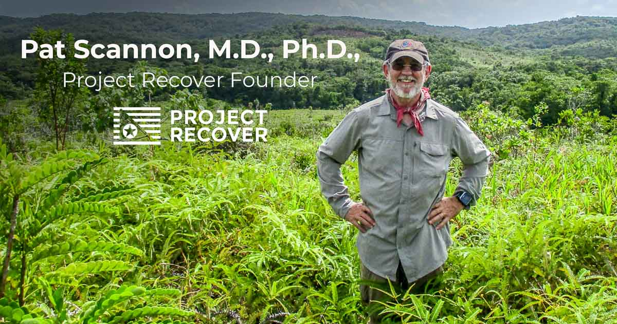 Pat Scannon Project Recover Founder