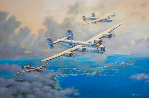 Mission Palau Limited Edition Painting