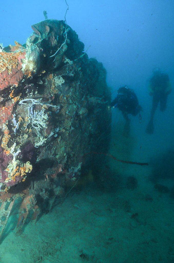 MIA B-24 at 70 feet deep